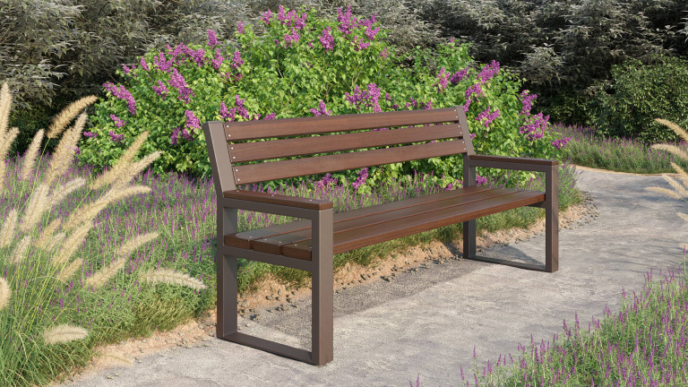 Скамейка дерев'яна Рапсодия