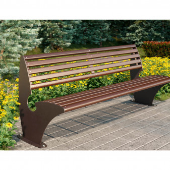 """Скамейка из дерева """"Парк Вуд"""""""
