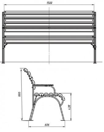 Bench Sonata фото_4