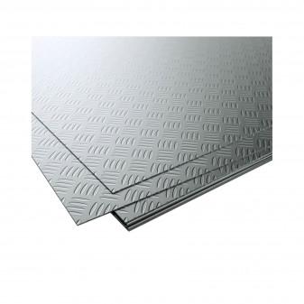 Рифлений лист сталевий 1 мм