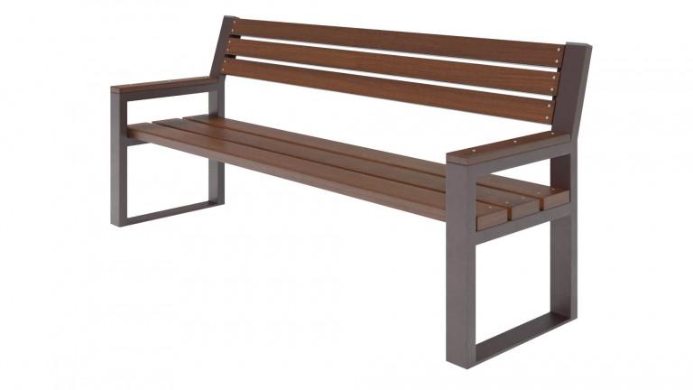 Скамейка дерев'яна Рапсодия фото_1
